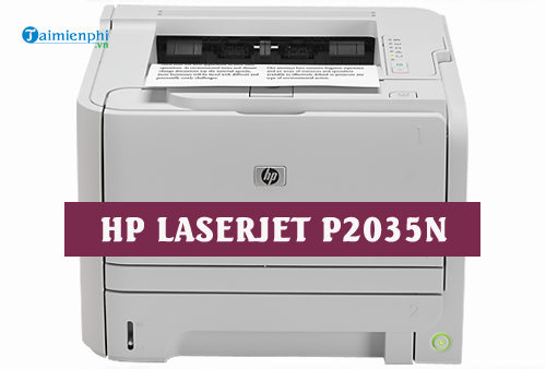 driver hp laserjet p2035n for mac
